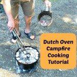 Dutch Oven Campfire Cooking Tutorial www.MelissaKNorris.com