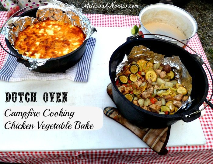 Pioneering Today Dutch Oven Chicken Vegetable Bake Recipe Melissa