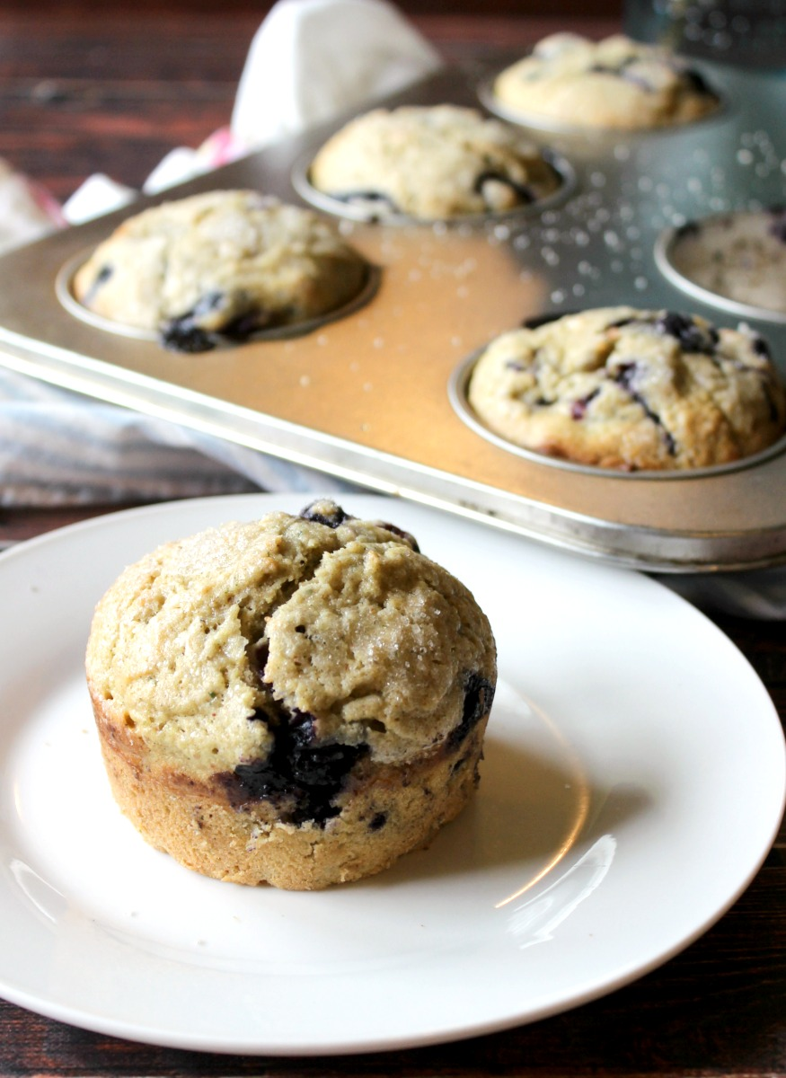Popular blueberry zucchini muffin recipe. These are so good and you can't even tell they have zucchini in them, a healthy twist but so good we eat them for dessert as well as breakfast!