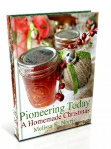 Pioneering Today A Homemade Christmas by Melissa K. Norris