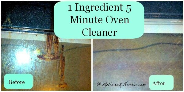 Natural Oven Cleaner, DIY Oven Cleaner