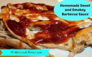 Homemade Sweet and Smokey Barbecue Sauce