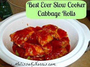Pioneering Today Slow Cooker Cabbage Rolls