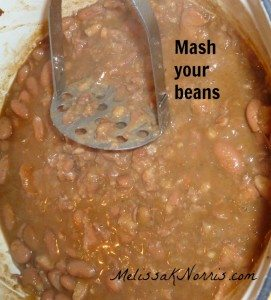 Homemade refried beans in 10 minutes