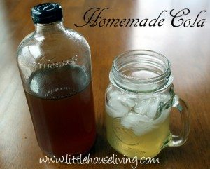 Homemade Cola by Merissa of Little House Living