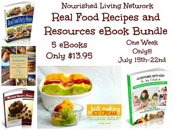 July Nourished Living Network E-Bundle Sale