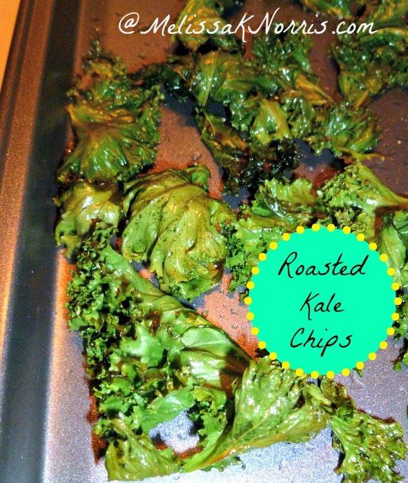 Roasted Kale Chips www.melissaknorris.com