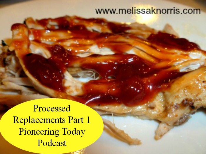 Pioneering Today Podcast Episode #12 Processed Replacements Part 1 www.melissaknorris.com