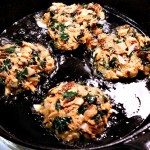 Salmon Kale Cakes gluten free, dairy free, and paleo, Recipe at MelissaKNorris.com