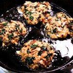 Salmon Kale Cakes gluten free, dairy free, and paleo, Recipe at MelissaKNorris.com
