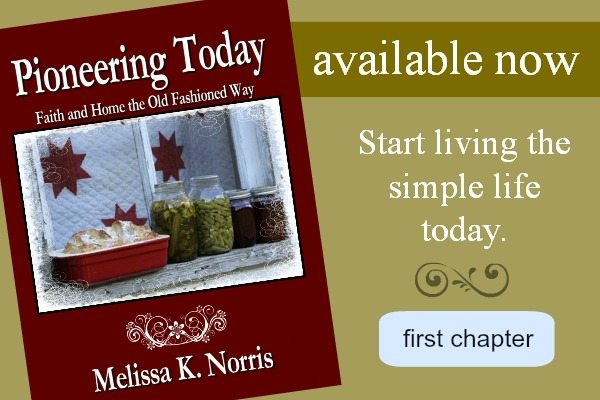 Pioneering Today Faith and Home the Old Fashioned Way by Melissa K Norris