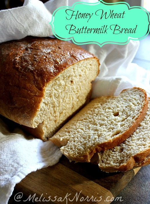 Honey Whole Wheat Sandwich bread recipe. This melts in your mouth and is so light, you'd think it was made with regular white flour. My husband thanked me for making this bread it was soo good.