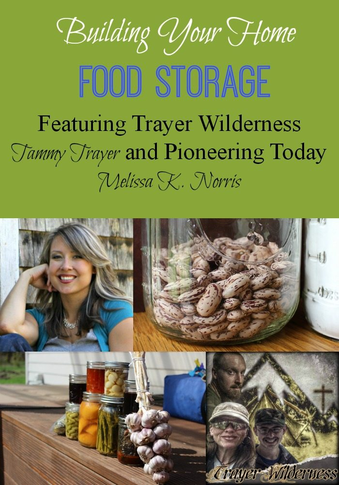 Build Your Own Home Food Storage