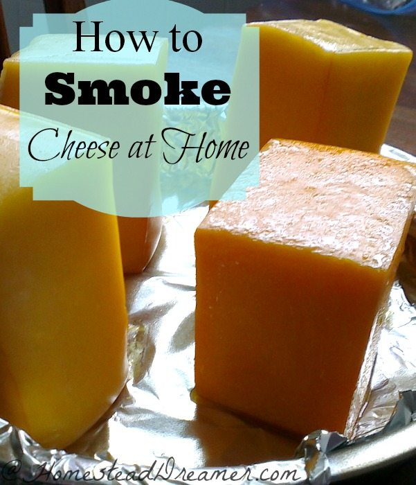 Smoke your own cheese at home. Love the tips on smoking and tips on using the freezer!