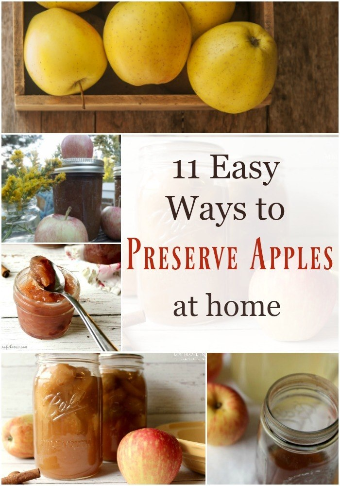 How to Preserve Apples at Home
