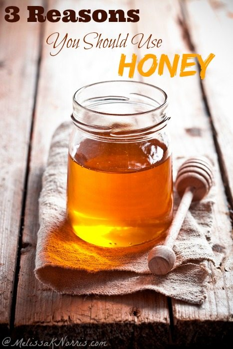 3 Reasons You Should be Using Honey. Great tips on using honey in baking, food storage,and medicinally.