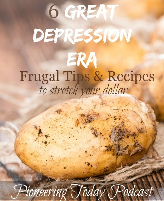 Great depression era money saving tips w potatoes melissa k norris tired of the rising cost of groceries the great depression era frugal tips and recipes forumfinder Gallery