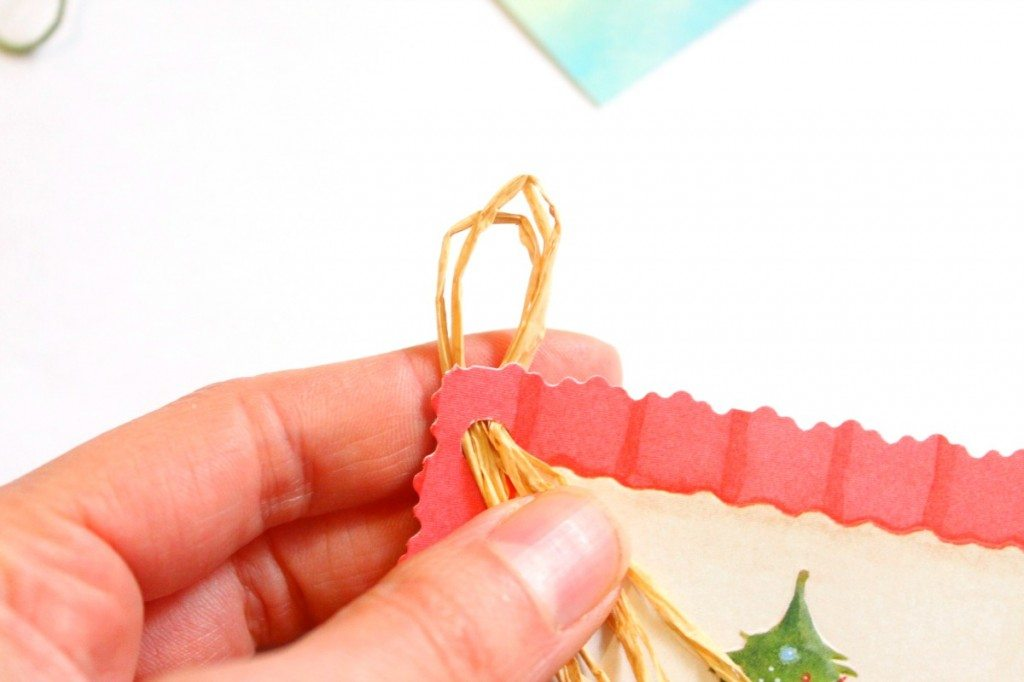 Homemade gift tag tutorial from the Great Depression Era! Excellent way to reuse products.