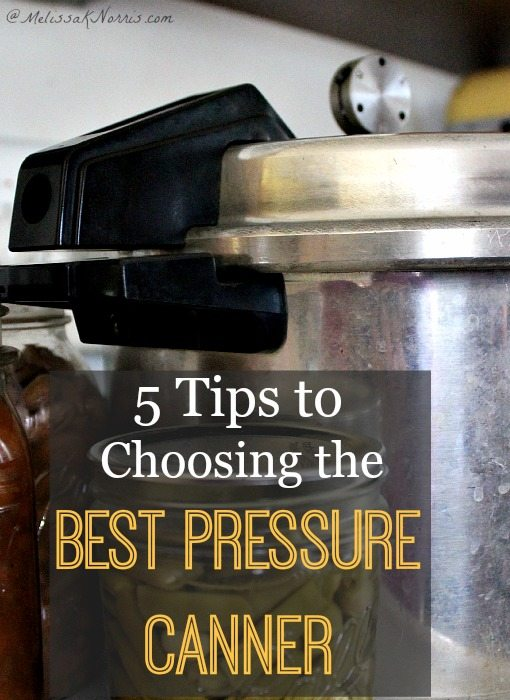 How to choose the best pressure canner for you. Getting started with pressure canning doesn't have to be scary. Read now to make sure you choose the best pressure canner for your needs.