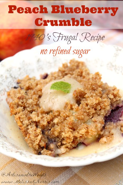 Want a frugal recipe that doesn't use any refined sugar, but is good enough to replace all your other recipes? This recipe  is from her great-grandmother's recipe collection in 1940. Love the tips for using any fruit you have on hand and it had me at vintage!