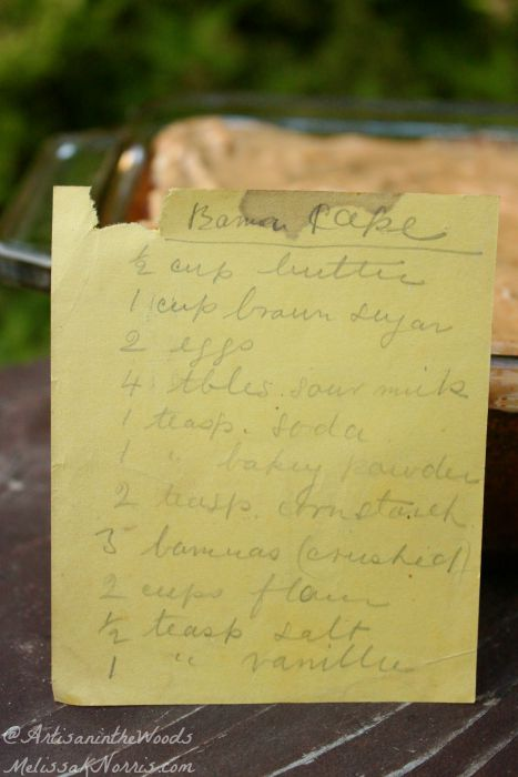 This is my great-grandmother's honey banana cake recipe, passed down through generations. I love old-fashioned recipes because they didn't use processed sugar or flour, making this a real food recipe! Grab this now and start this banana cake tradition in your family. Plus, it just tastes plain fabulous!