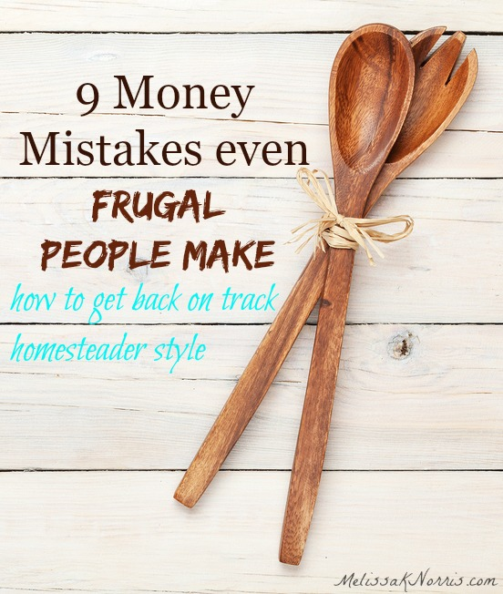 Even frugal people make mistakes that are costing them money. These are simple, but often over looked mistakes that you can easily fix. I'm so glad we did tip number 7 & 9, its saved us close to $300 a month.