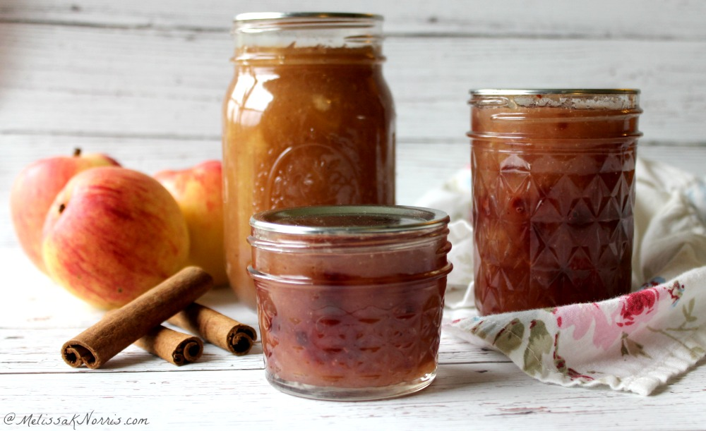 Homemade apple pie jam low sugar style, the perfect way to preserve your apples. This is one of the best jams, all the flavor of apple pie without the bake time! This is one canning recipe you've got to grab