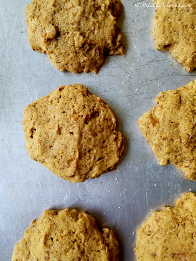 These old-fashioned pumpkin cookies are amazing, plus they use real pumpkin. I can't stop eating them! Grab the recipe here