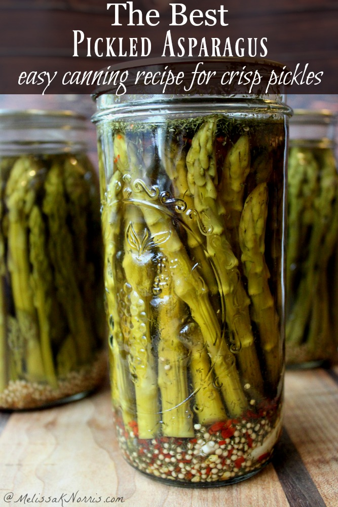 Best Pickled Asparagus Easy Canning Recipe