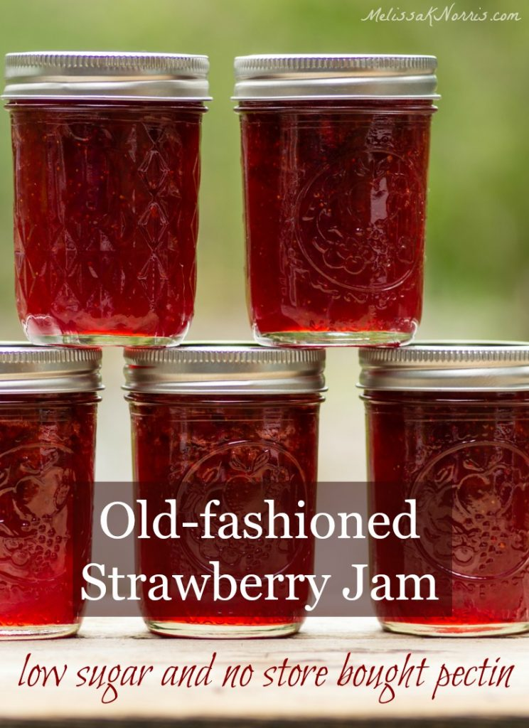 Strawberry jam recipe without pectin and low sugar for Pectine cuisine