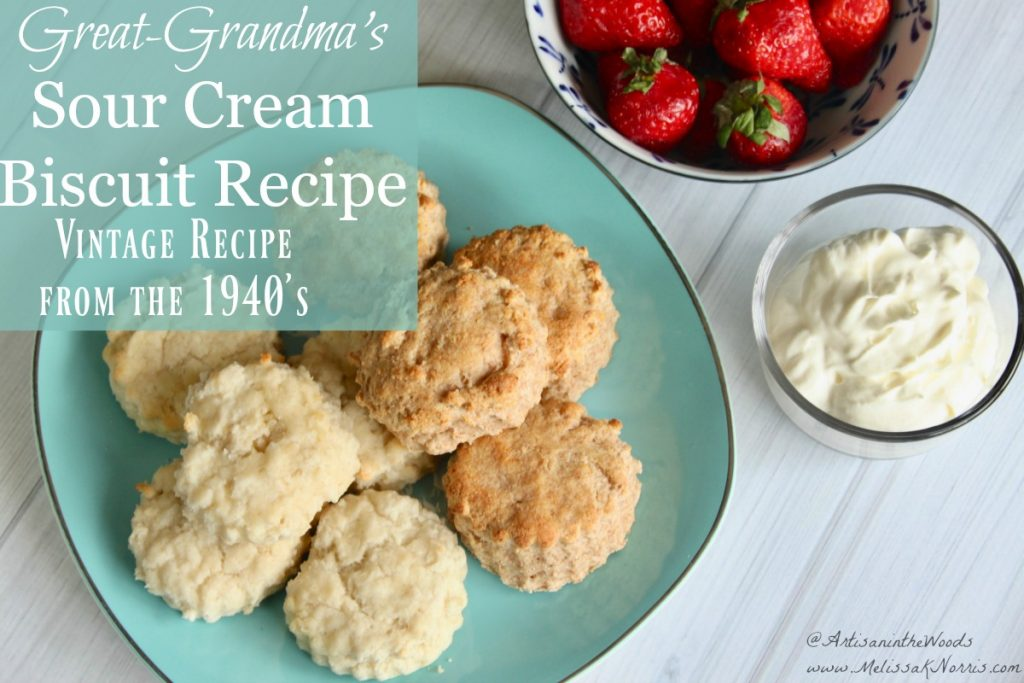 Sour Cream Biscuit Recipe