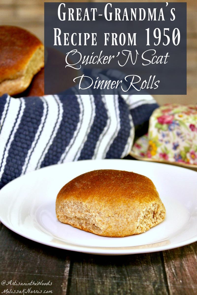 Easy Dinner Roll Recipe