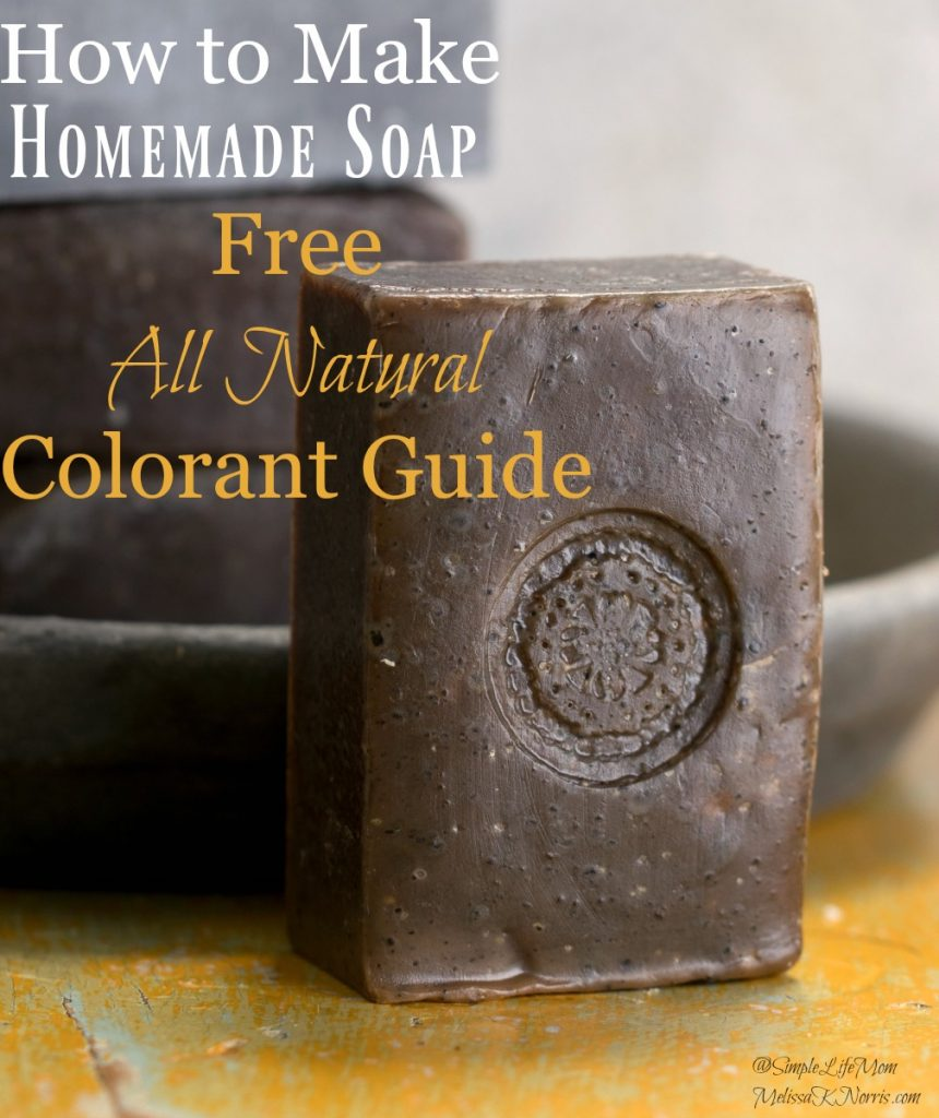 Natural Colorants For Soap Hot Process