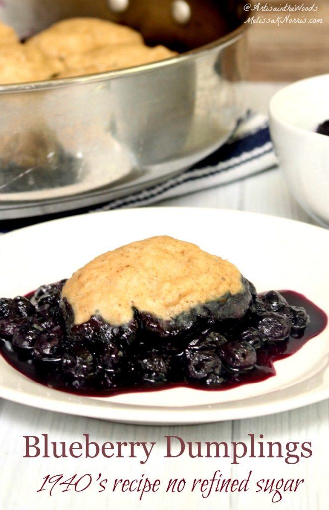 Blueberry Dumplings Recipe