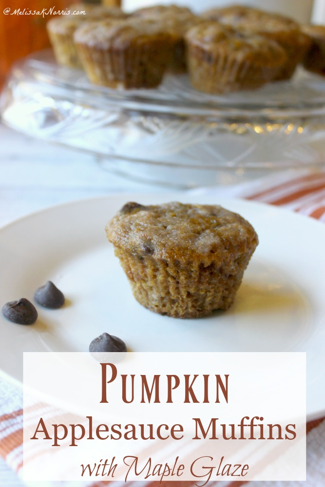 Melissa K. Norris's Blog - Pumpkin Applesauce Muffins ...