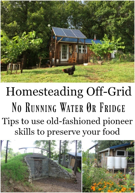 Tips For Homesteading Off Grid Amp Life W Out A Fridge Or