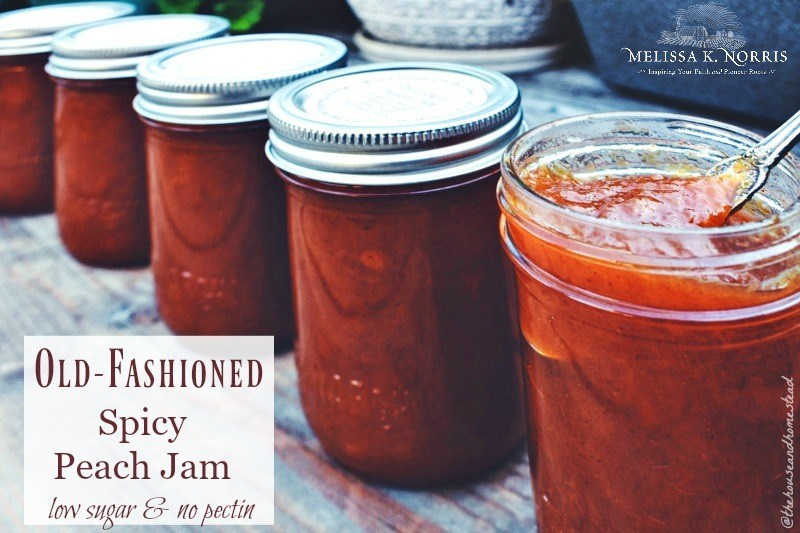 chipotle peach jam recipe