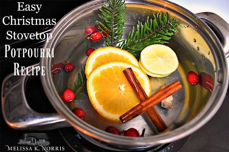 Christmas stovetop potpourri