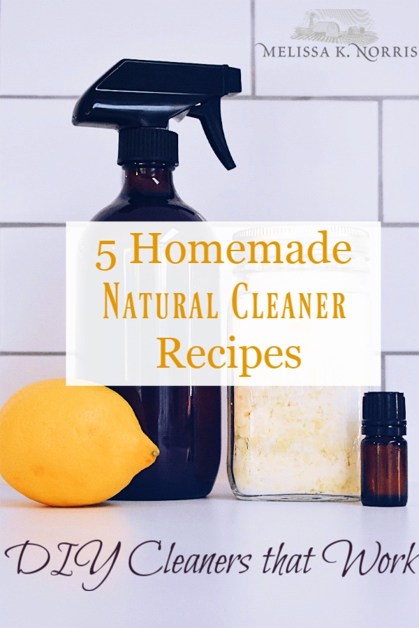 5 Homemade Natural Cleaner Recipes