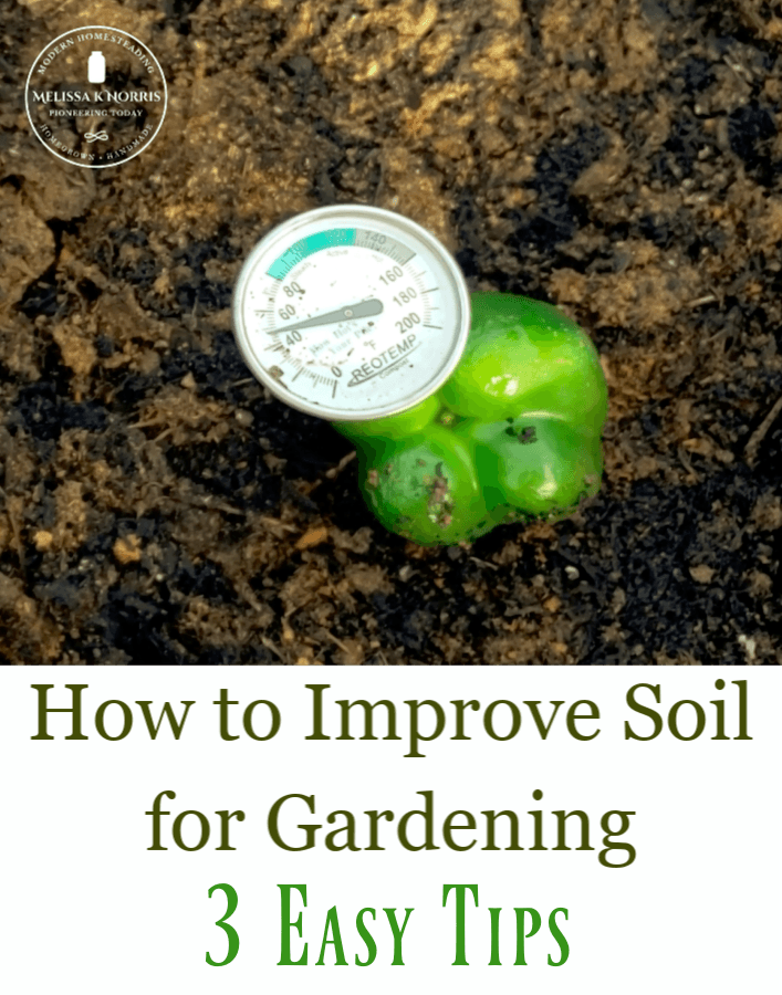 How to improve soil for gardening compost pile