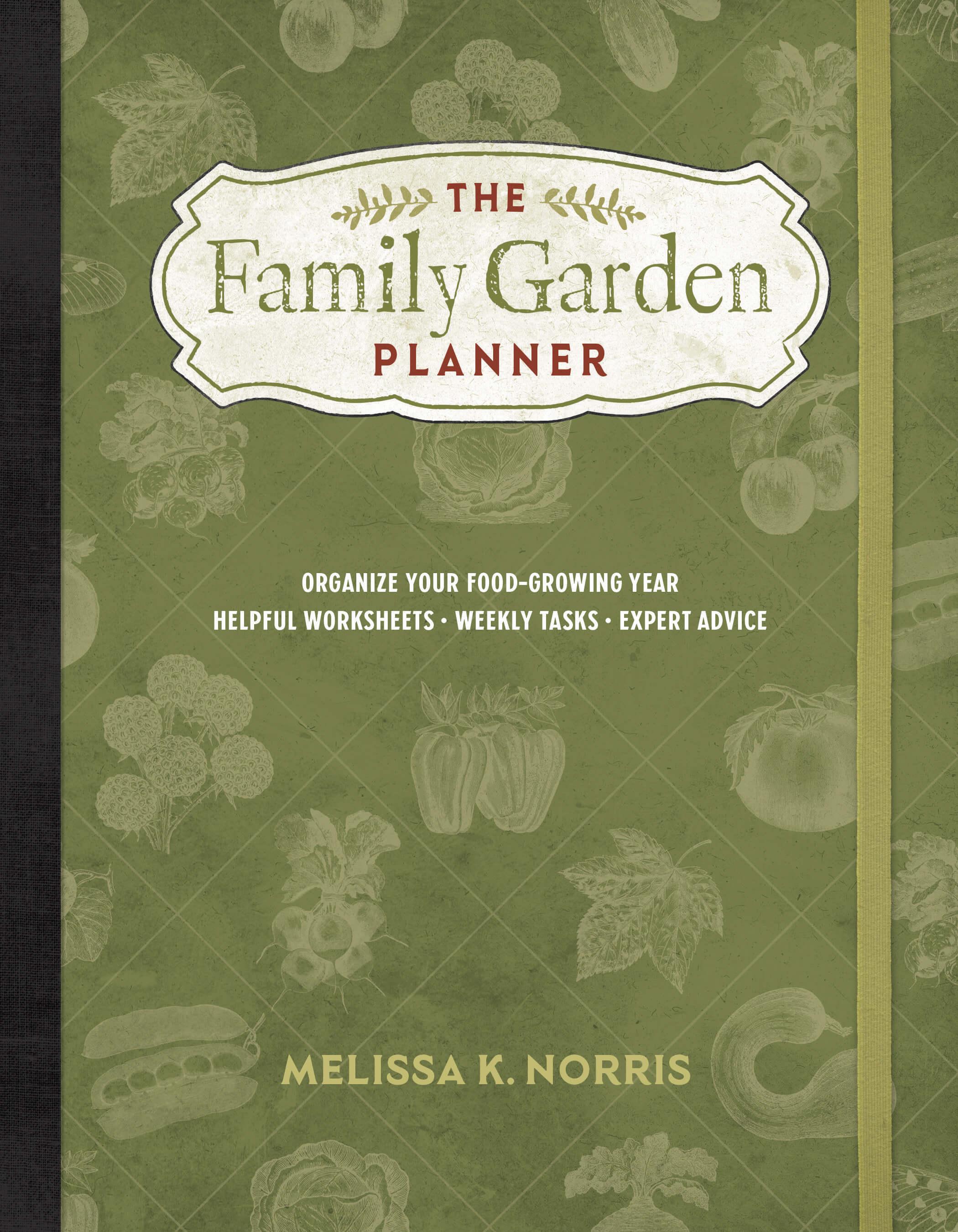 Family Garden Planner Cover
