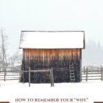 Image of a snowy barn.