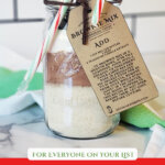 Pinterest pin with an image of homemade DIY gifts.