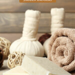 Pinterest pin for the hidden ingredients in skincare. Images of natural skincare products.